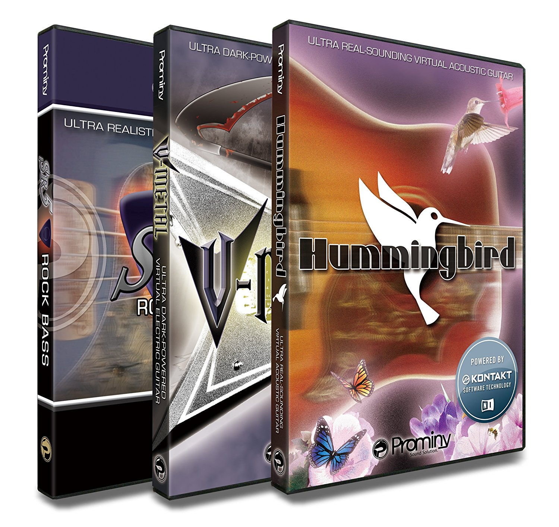 Hummingbird & V-METAL & SR5 スペシャル・バンドル