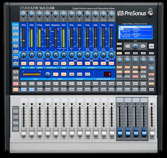 PreSonus StudioLive 16.0.2 USB