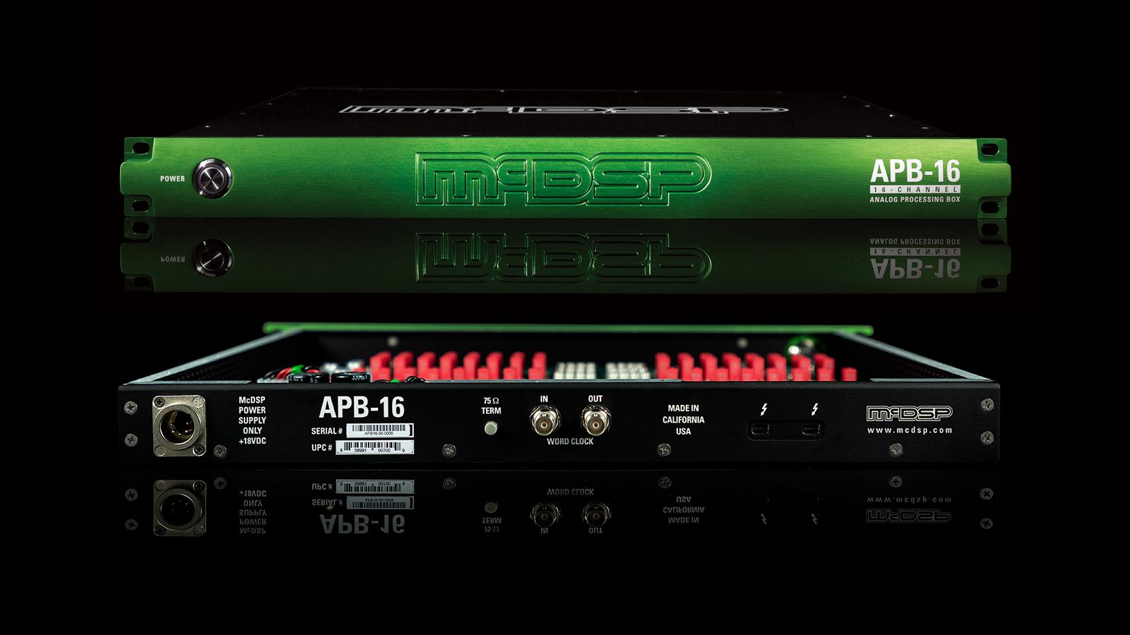 """<h2 class=""""title"""">Pro Toolsにアナログデバイスをプラグイン!全く新しいDAWハードウェアMcDSP APB-16登場</h2>"""