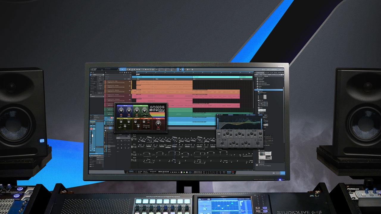 """<h2 class=""""title"""">譜面機能やライブ・パフォーマンスの新機能に加え、より扱いやすくなったPreSonus Studio One5</h2>"""