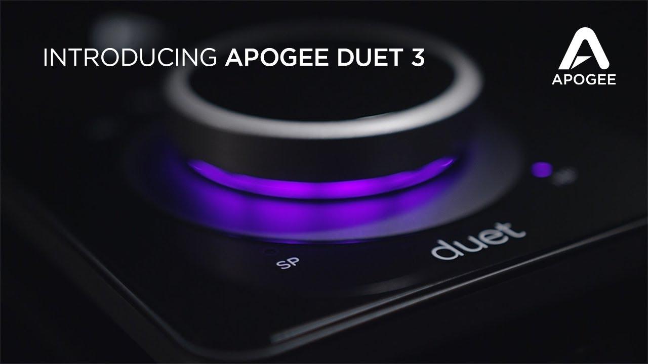 """<h2 class=""""title"""">コンパクトかつハイエンドのオーディオを提供する最新モデルApogee Duet 3発表</h2>"""